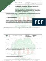 Ficha Tecnica Para El Manejo de Plantaciones en Periodo Improductivo