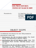 New TDS procedure