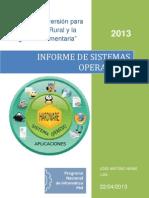 Informe de Sistemas Operativos