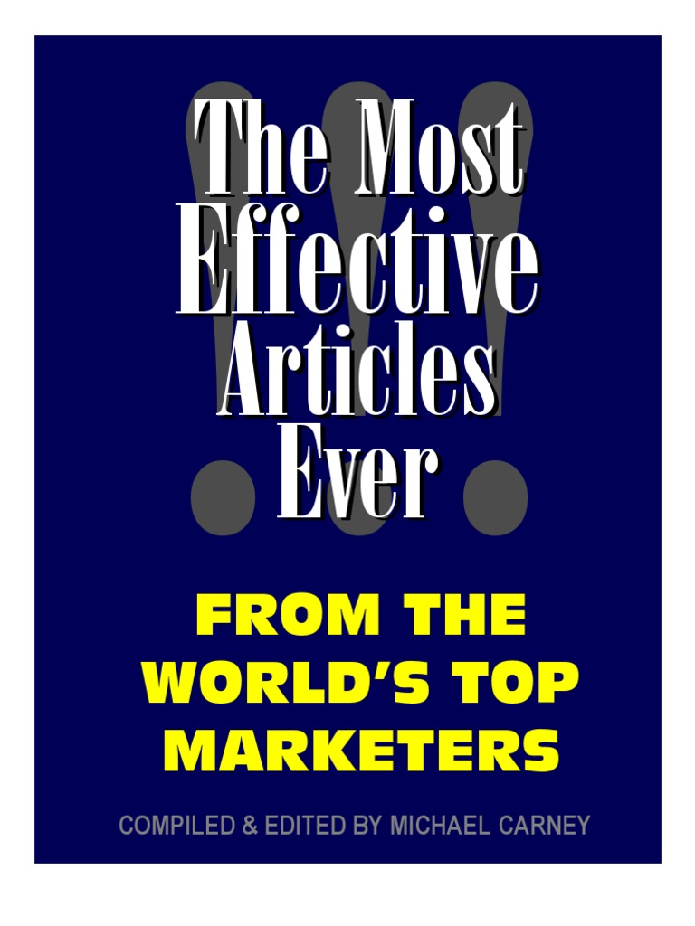 Effectivearticles1 e books sales fandeluxe Choice Image
