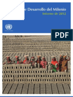 MDG Report 2012 - Complete Spanish