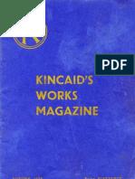John G Kincaid magazine Autumn 1956