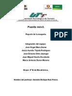 Reporte de La Maqueta