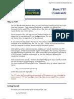 Basic FTP Commands