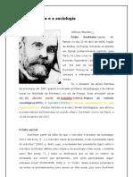 3.Durkheim e a Sociologia