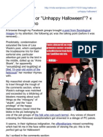 Sieg Hallow or Unhappy Halloween > MRDAs Inferno