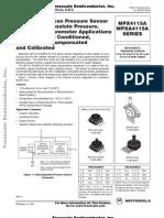 MPXA4511A Pressure sensor