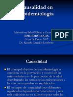 Clase 1.2 Causalidad en Epidemiología