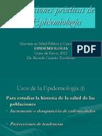 Clase 1.3 Aplicaciones Prácticas Epidemiología