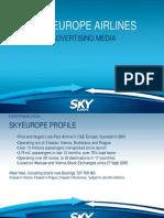 Sky Presentation Advertising Media 0309