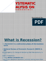 Presentation on Recession
