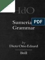 Edzard, Dietz Otto - Sumerian Grammar