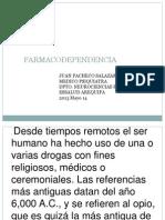Farmacodependencia Mayo 2013