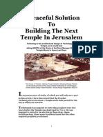 Building the Next Temple in Jerusalem