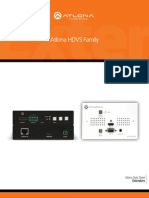 Atlona HDVS HDBaseT to HDMI Extender Scaler Family of Products