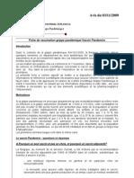 Avis Vaccin 03112009