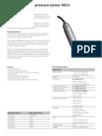Sensor de Nivel HSC2