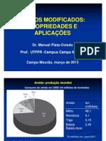 Amidos Modificados 2013 - Manuel Plata