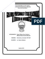 Informe Inf- 166