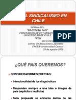 Rol Del Sindicalismo en Chile Meferes