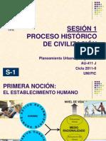 Sesión 1- Proceso Histórico Civilización