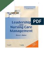 Leadership & Management 2013 Handouts(2)
