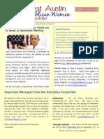 NWARW September 2013 Newsletter