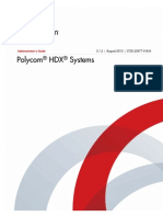 Administrator's Guide Polycom® HDX® Systems