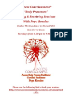 Gifting & Receiving Sessions 