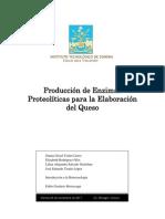 Producción de enzimas proteolíticas para la elaboración del Queso (1)