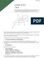 Example No. 8 (BS) - Concrete Design P-Delta