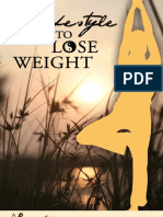 A Lifestyle to Lose Weight