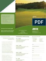 10970 ElAmistad Golf Trifold 2013