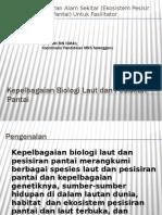 ihashimi Kepelbagaian Biologi Laut Dan Pesisiran Pantai