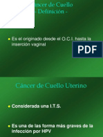 UDH Cáncer de Cuello 2010 Power point 2003