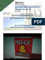 Cambio climático y eficiencia energética [Modo de compatibilidad]