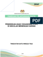 Panduan Pelaksanaan Rintis PAV Gold Course Klang Nov 2011 3