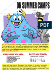 Animation Summer Camp Information