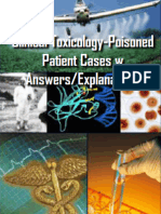 Clinical Toxicology-Poisoned Patient Cases w Answers/Explanations