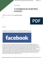 Mediosfera Facebook Relaciones Sociales