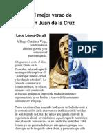 El mejor verso de San Juan de la Cruz por Luce López-Baralt