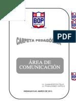 CARPETA PEDAGOGICA_COMUNICACION_2011