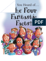 Have You Heard of . . . The Four Fantastic Facts?
