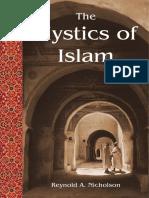 The Mistics of Islam Reynold Nicholson