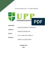 Principios Fundamentales de Las Finanzas