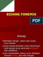 BIDANG FONEMIK