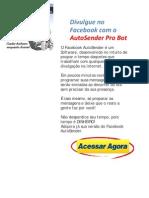 Divulgar No Facebook Com Autosender Pro Bot