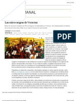 Las raíces negras de Veracruz   El País Semanal   EL PAÍS