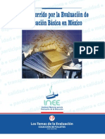 ANEXO 3.- BREVE RECORRIDO POR LA EVALUACION DE LA EDUCACION BASICA EN MÉXICO (sesión 3)