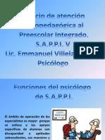 FUNCIÓN DEL PSICÓLOGO